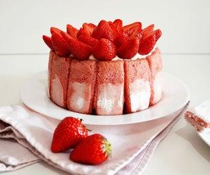 草莓蛋糕夏洛特
