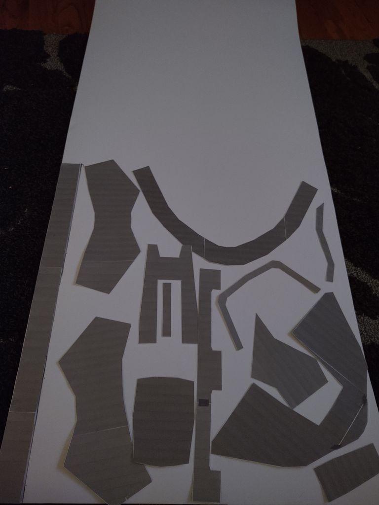 Picture of Print Templates From Pepakura