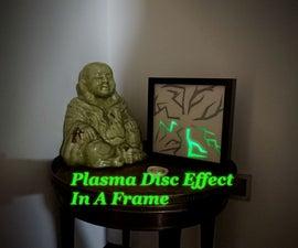 Plasma Disc Effect in a Frame