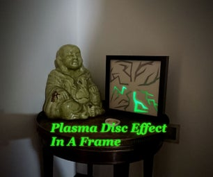 Plasma Disc Effect in a Frame