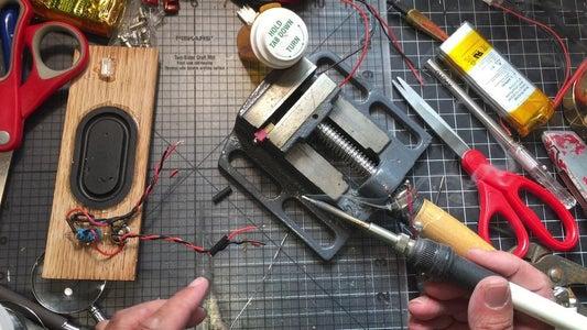 Solder Back DC Jack, On/Off Switch and LED Adding a Dean Plug