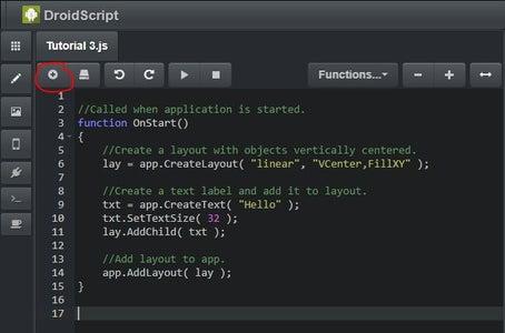 DroidScript Code