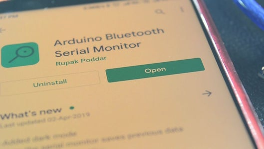 Download the Serial Monitor App