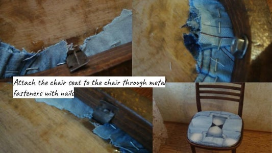 Tighten the Chair Seat,Putting a Chair Together.