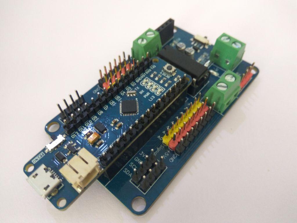 Picture of Nano Robot Controller Board