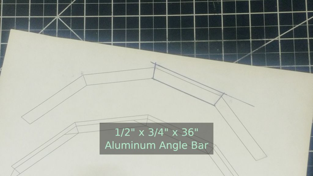 Picture of Shaping the Aluminum Frame