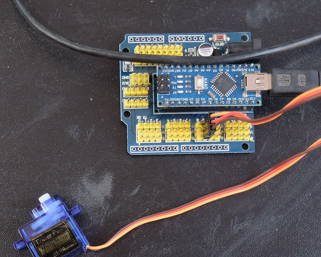 Picture of Connect Your Servo to the Board