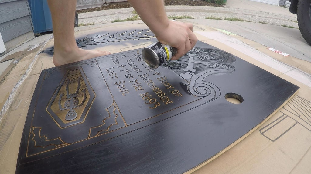 Picture of Paint the Etched Design