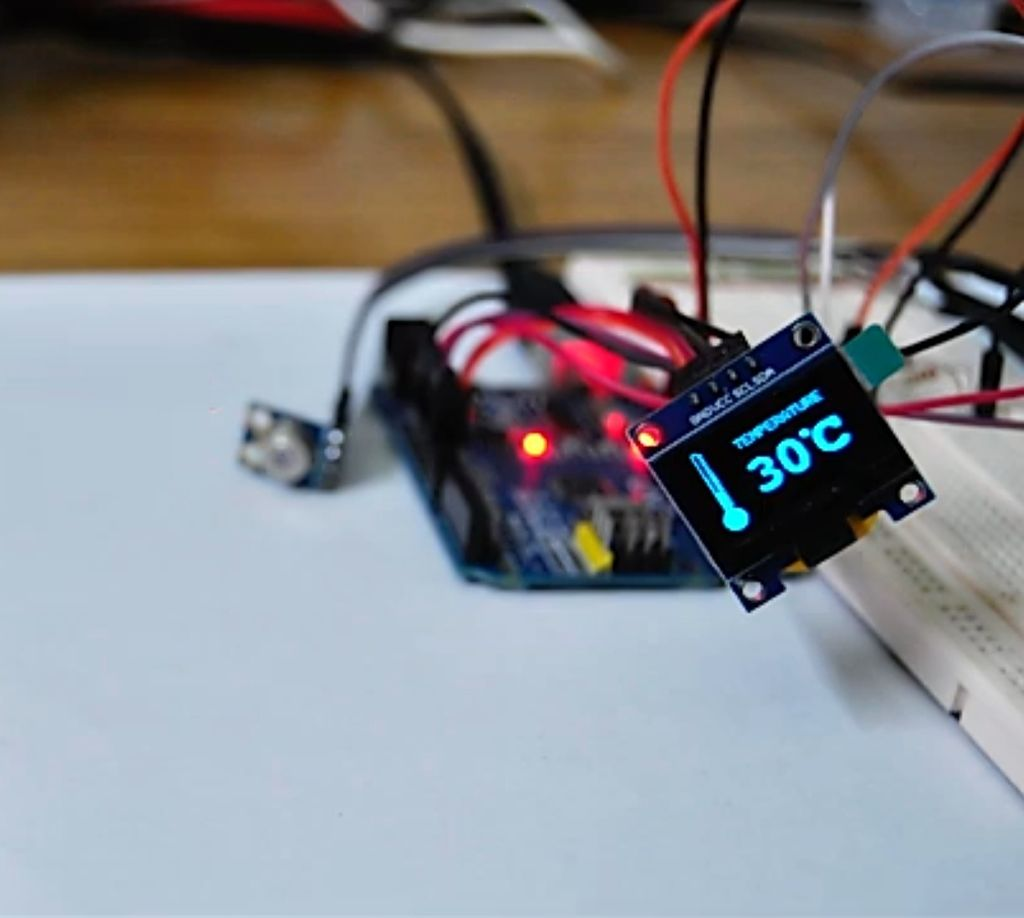 Picture of Testing the Non Contact Sensor
