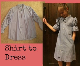 Shirt to Dress