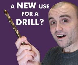 您可以使用钻头超过钻洞!