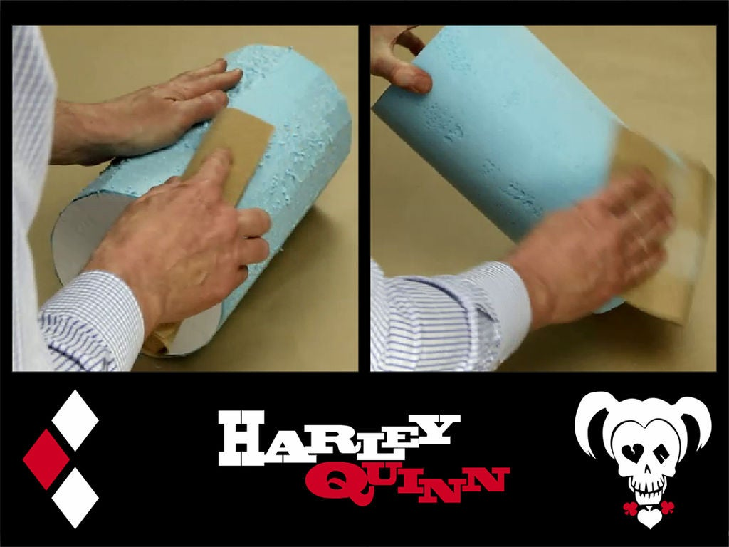Picture of Shaping the Styrofoam