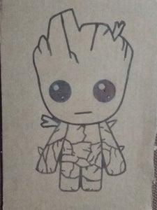 Get Groot on Cardboard