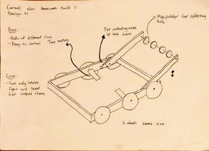 Design 1 - Intake Mechanism
