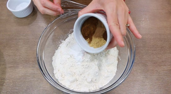 Whisk Dry Ingredients in a Large Bowl