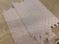 Plywood Patterned Panels