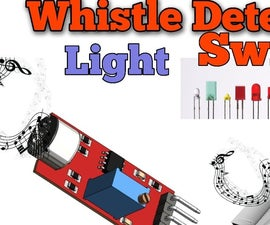 Whistle Detector Light Switches