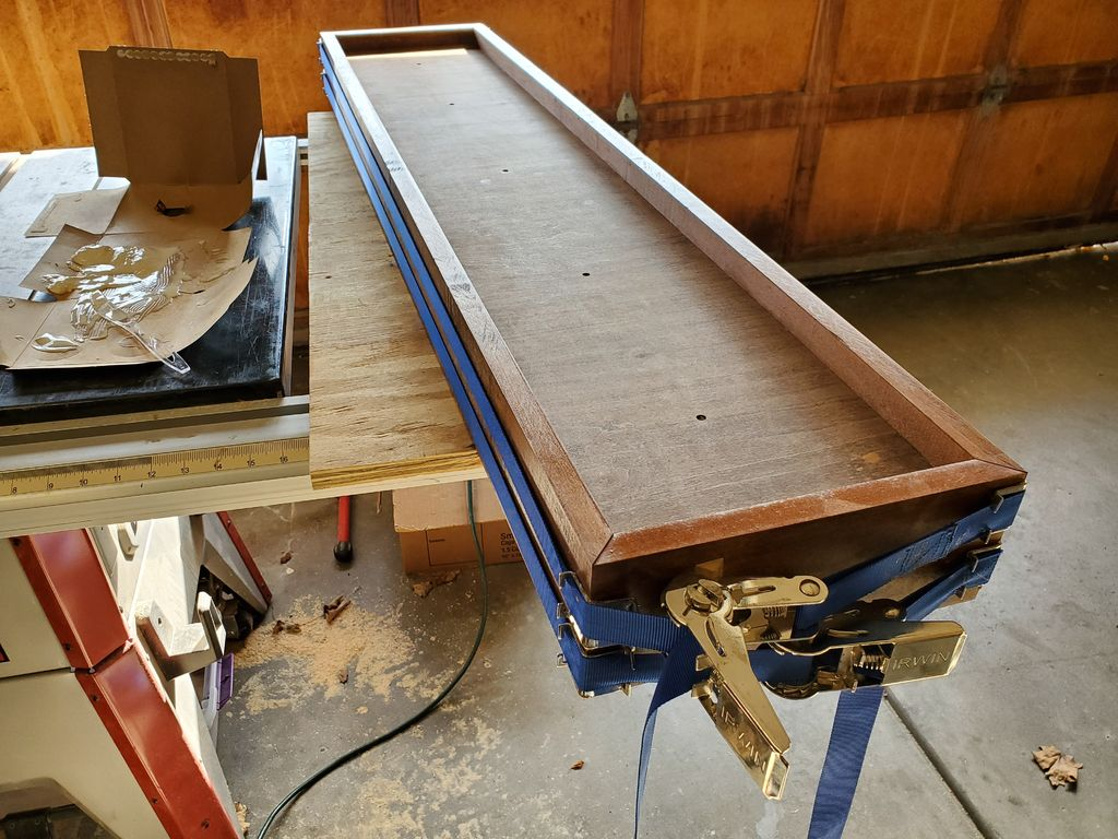 Picture of Frame and Stain Your Wood
