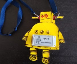 Wearable Electronic Badge