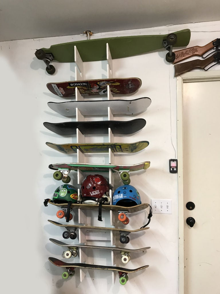 Picture of Skateboard Wall Rack