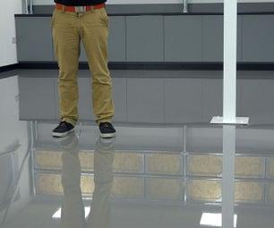 DIY Designer Epoxy Resin Floor