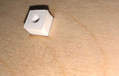 Assembly A: Attach the Button Switch to the Box Lid
