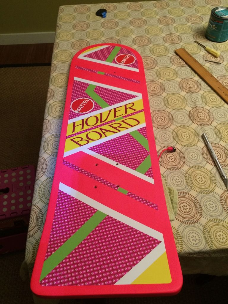 Picture of Cutting the Graphics for the Grip Tape