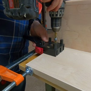Drilling for Dowels