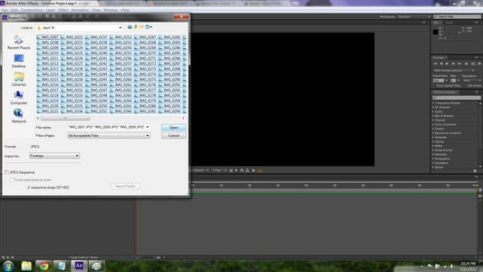 Importing and Resizing Pictures