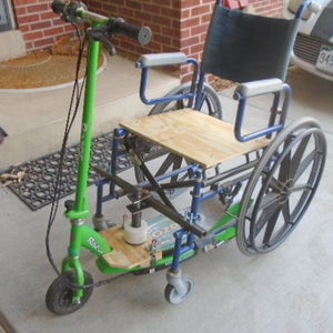 Scooter Powered Wheelchair