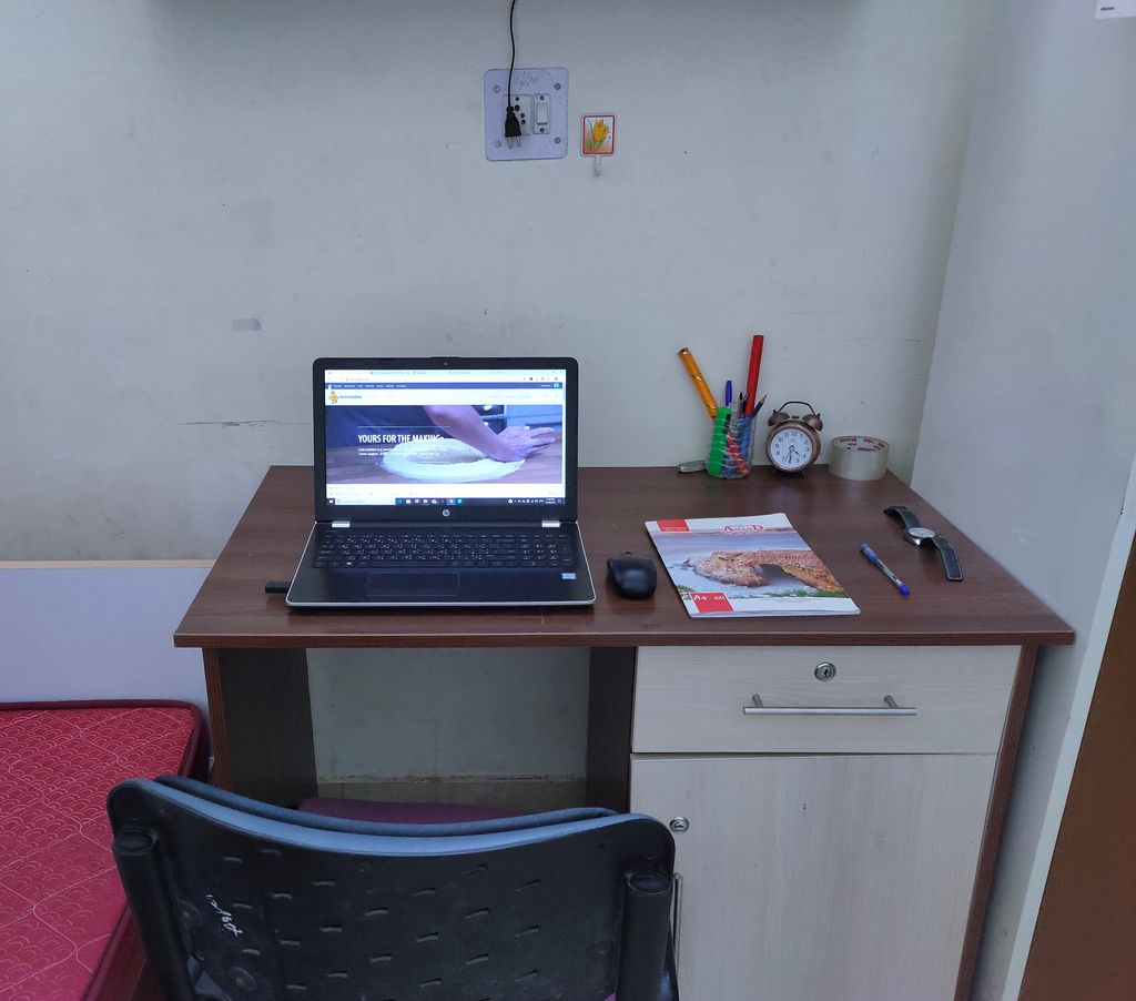 Picture of DIY LED Strip-Study Table Illumination