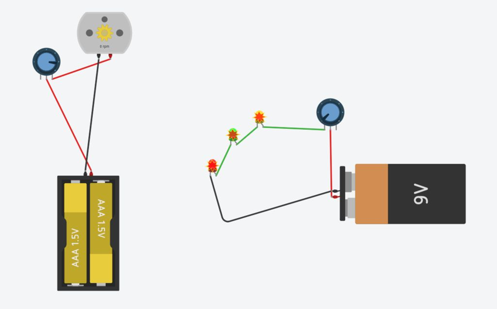 Picture of  Design of a Circuit in Tinkercad Circuits
