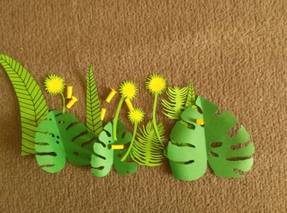 Additional Items: Tropical Leaves