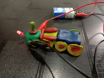FUN WITH CIRCUITS USING MODELING CLAY