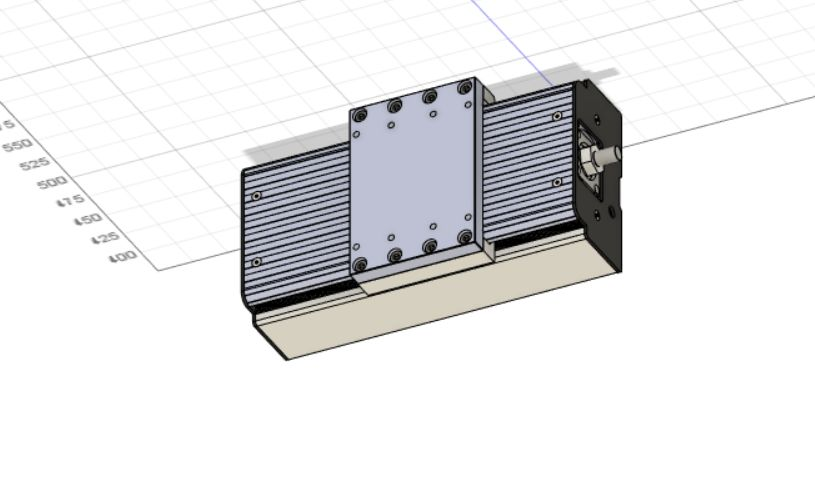 Picture of Building XYZ Axis