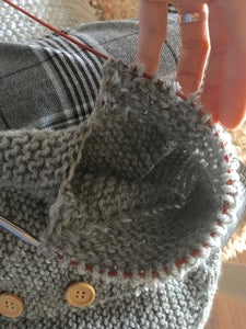Knitting the Sleeves