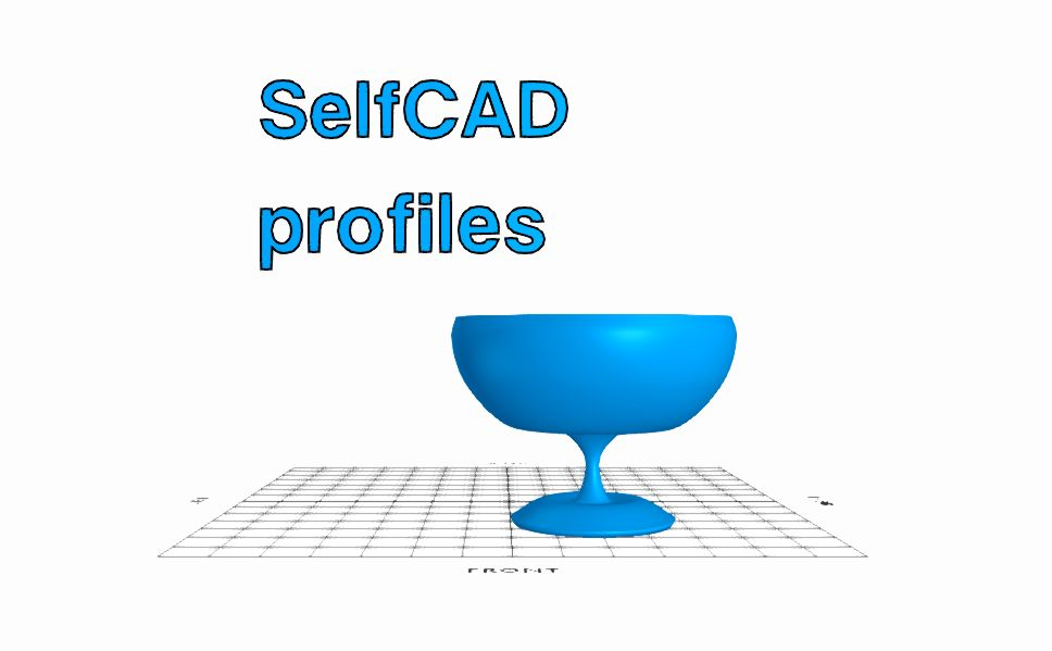 Picture of Working With Profiles | SelfCAD