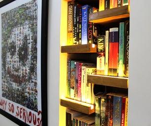 Alexa控制的书架照明