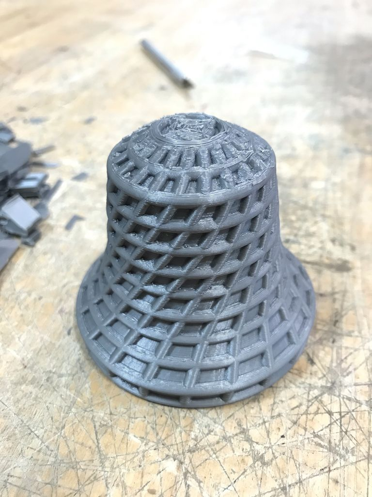 Picture of Bronze Bell From 3D Printing