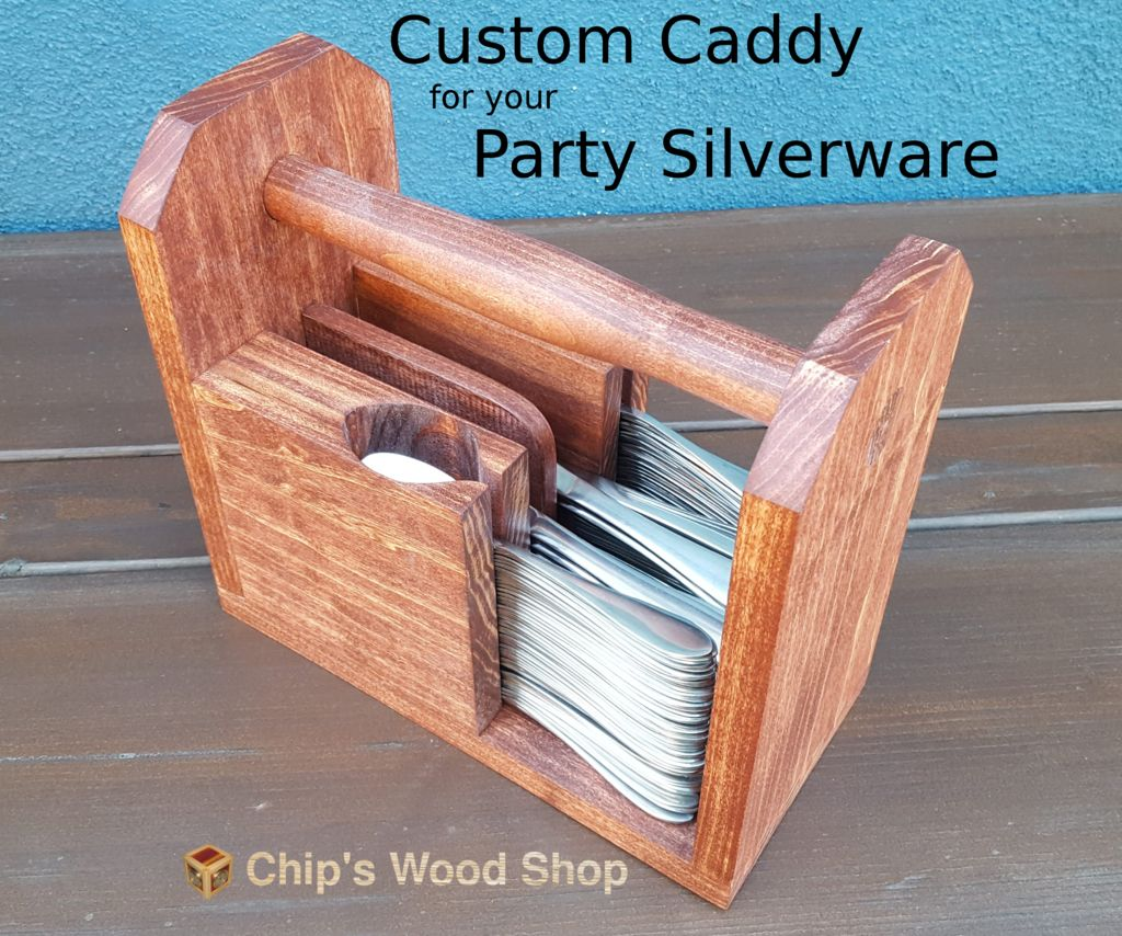 Picture of Custom Caddy for Your Party Silverware