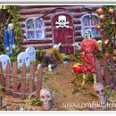 Haunted Zombie House Halloween DIY
