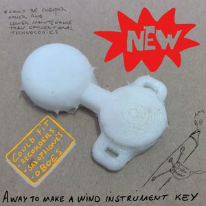 Soft Pneumatic Wind Instrument Key Concept