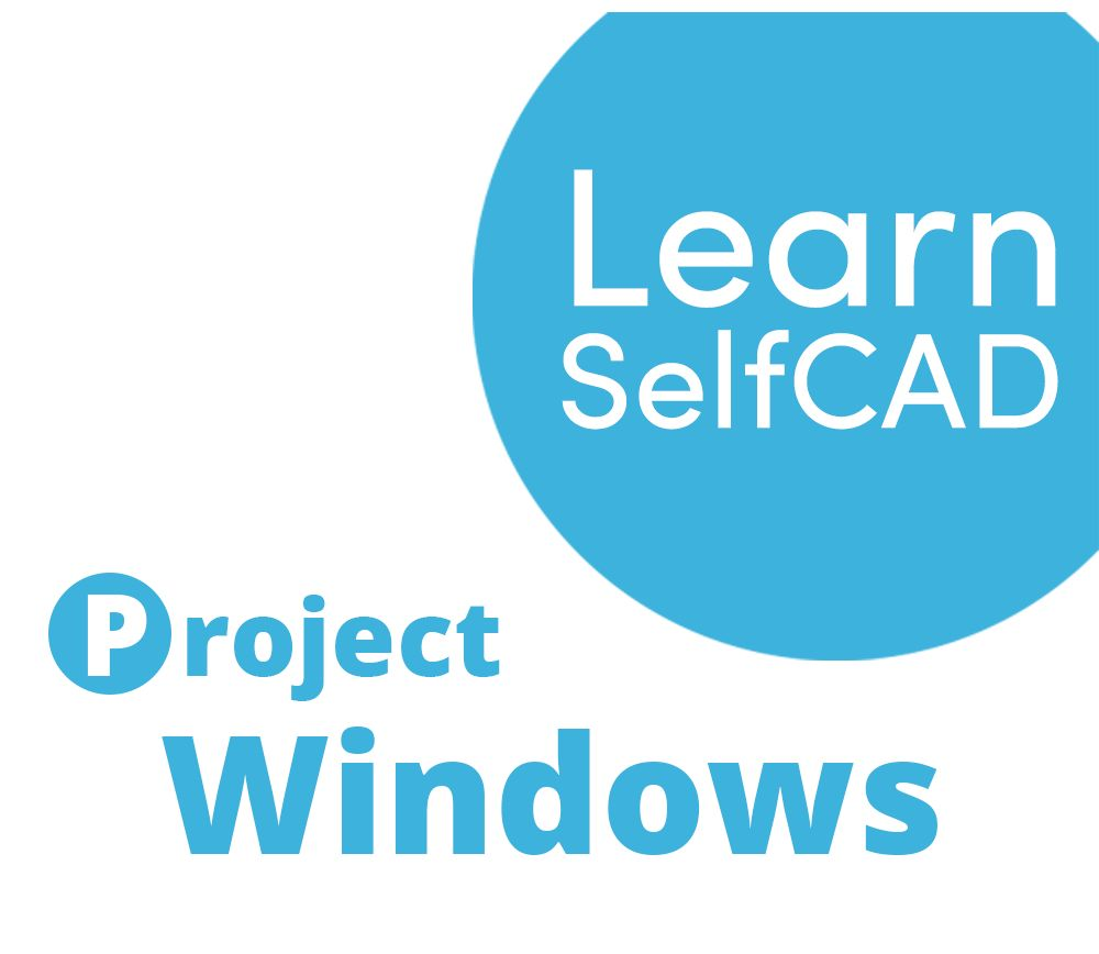 Picture of 2.3. Windows   Learn SelfCAD