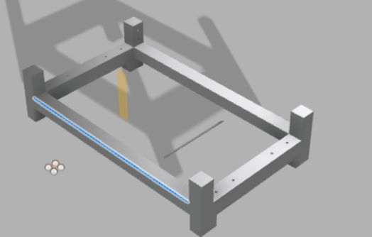 Picture of Step 1: Build the Base of the Machine Tool