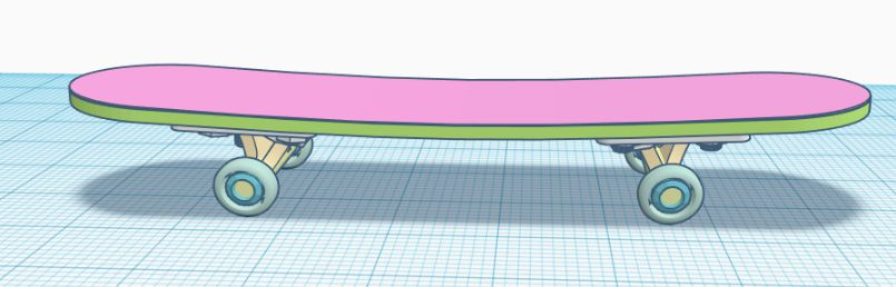 Picture of Step 5: Combination Skateboard