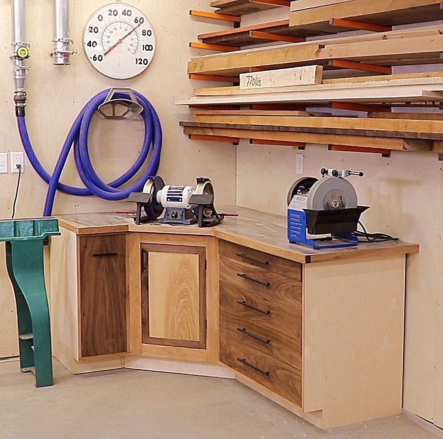 Picture of Lathe Utility Cabinet