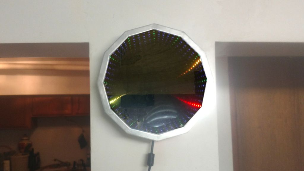 Picture of Make an Infinity Mirror Clock