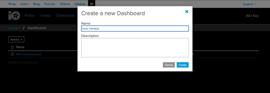 Now Let's Make a Dashboard..