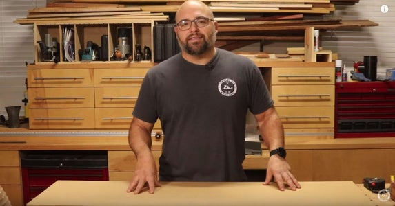 Cut the Sled to Fit Your Planer Width