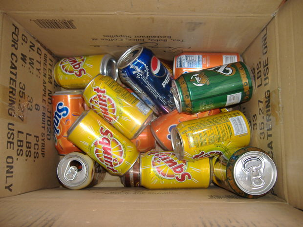 Picture of Drink a Lot of Soda, or Eat a Lot of Soup
